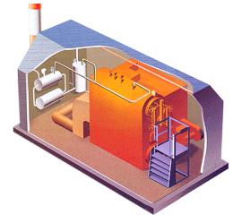 Модульная котельная установка